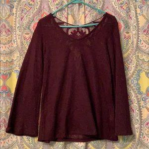 Sweaters - Bell sleeve sweater tunic